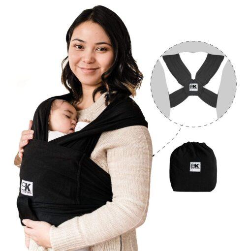 baby ktan baby carrier original in black