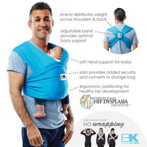 baby Ktan baby carrier ACTIVE infographic benefits detail