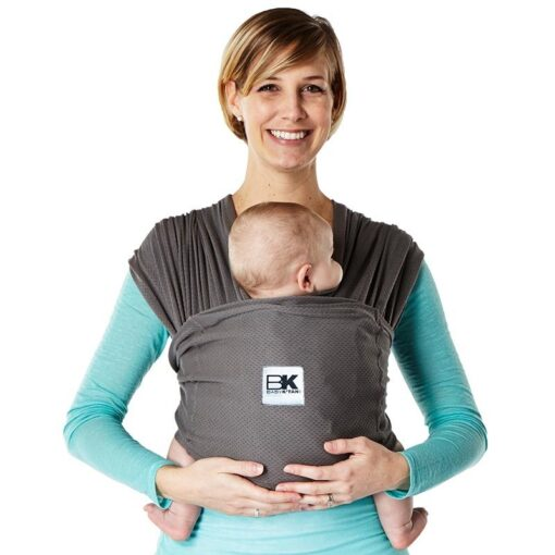 Baby K'tan Baby Carrier Breeze in Grey Charcoal