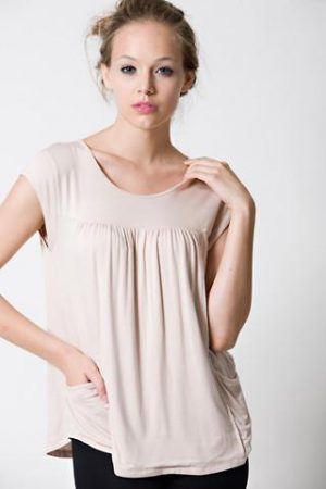 DOTE Lindsay Pocket Nursing Top close up