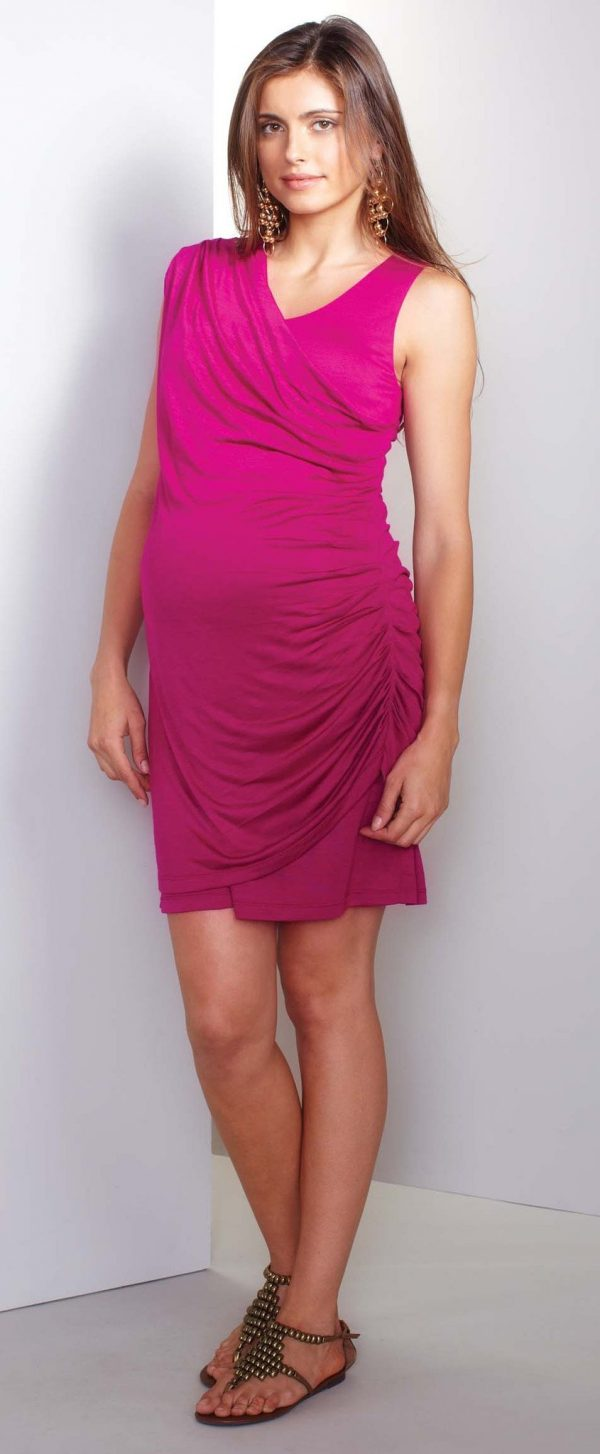 Maternal America Saree Maternity Dress