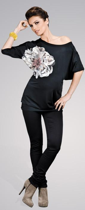 Happy Mum Negra Maternity Tunic
