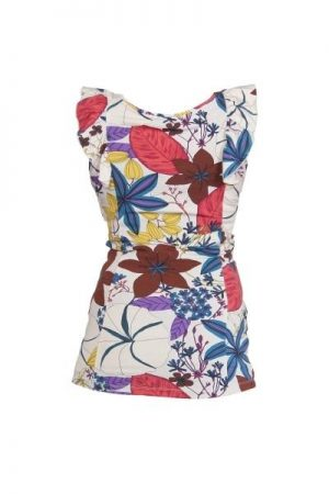 Queen Mum Floral Maternity Top