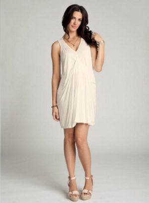 Ingrid & Isabel Waterfall Dress in ivory