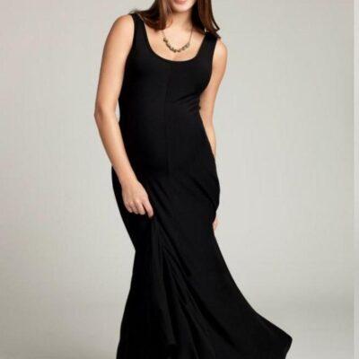 Ingrid & Isabel Tank Maxi Dress in Black