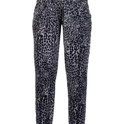 Queen Mum Leopard Print Maternity Pants