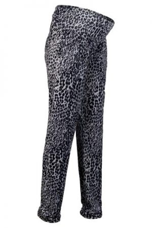 Queen Mum Leopard Print Maternity Pants