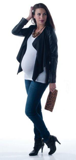 Milkalicious M2 Collection Nursing Maternity Tee with bolero