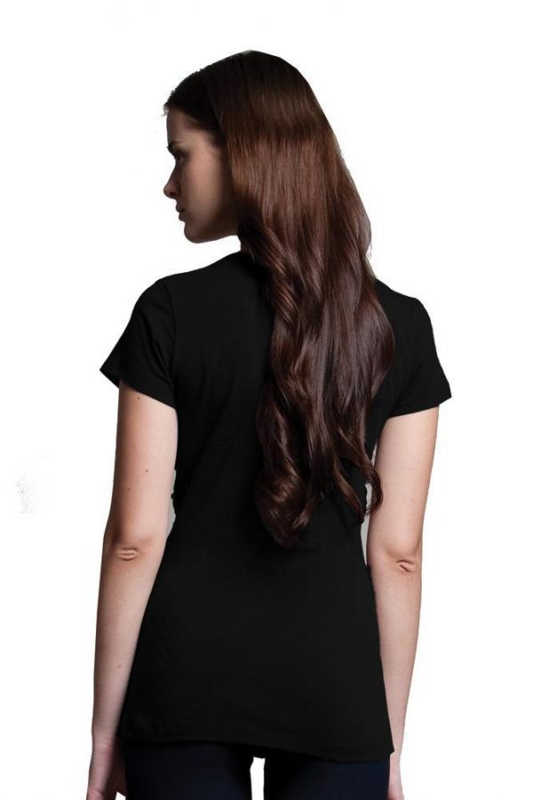 DOTE Knot Front Nursing Top back view
