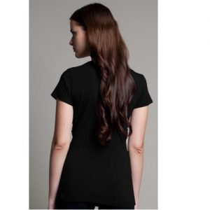 DOTE Keyhole Nursing Top black back view