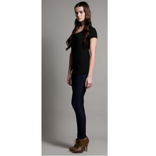 DOTE Keyhole Nursing Top black side view
