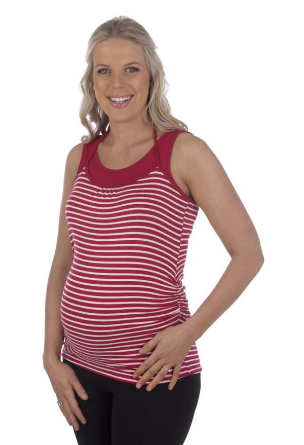 Ninth Moon Halter Neck Breastfeeding Nursing top