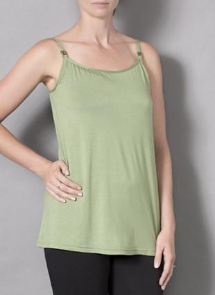 Laila & Spot Breastfeeding Singlet in green
