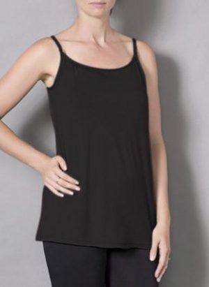 Laila & Spot Breastfeeding Singlet in black