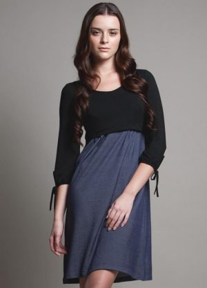 Dote patti maternity nursing dress close up