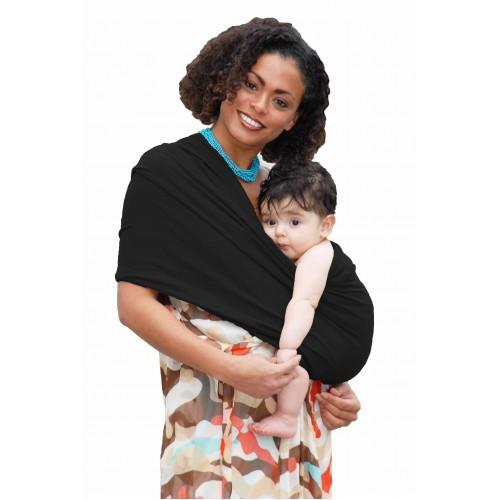 Baby K'tan Baby Carrier Original in black with older baby