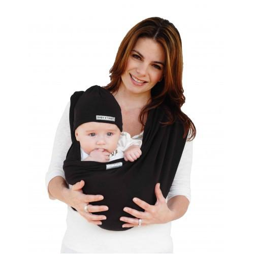 Baby K'tan Baby Carrier Original in black with baby facing out
