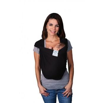 Baby K'tan Baby Carrier Original mum wearing black