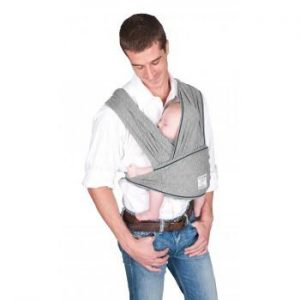 Baby K'tan Baby Carrier Original in heather grey