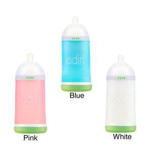 Adiri NxGen Nurser large bottle colour options pink, white, blue