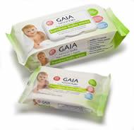 GAIA Bamboo Baby Wipes - two sizes!
