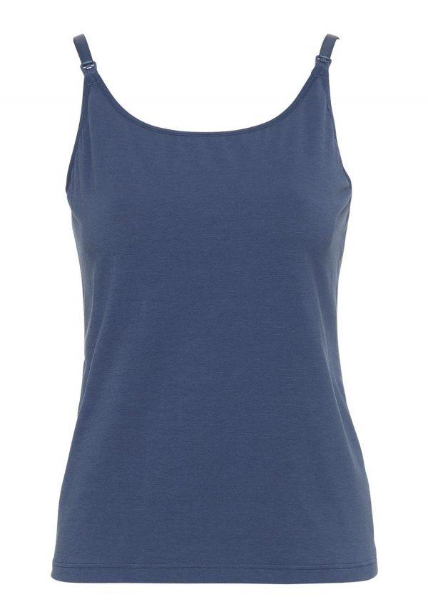 Emma Jane Nursing Cami Top navy blue version