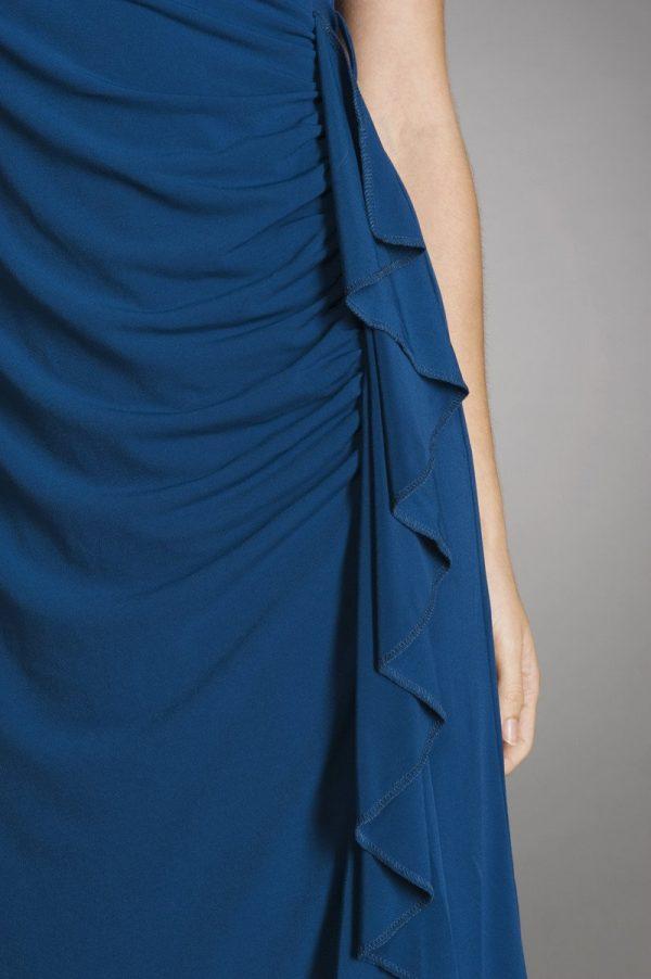 Maternalove Bijou Nursing Dress showing ruffle side
