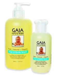 GAIA Baby Hair & Body Wash 200ml