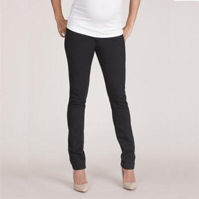 Seraphine Carmen Slimleg Maternity Jeans - Black