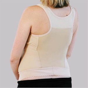 BellyBra for Maternity Back Pain Support nude