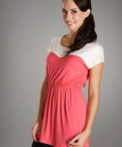 Maternalove Sweetheart Nursing Top side view