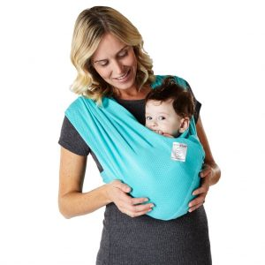 Baby K'tan Baby Carrier Breeze chest facing position