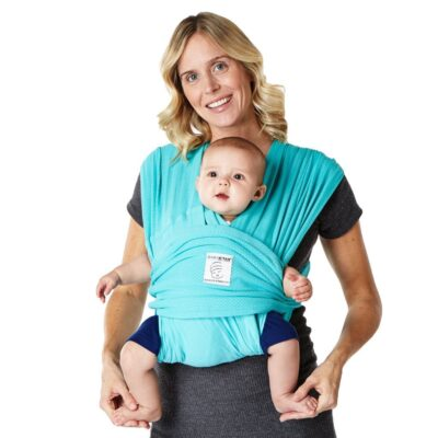 Baby K'tan Baby Carrier Breeze in teal colour