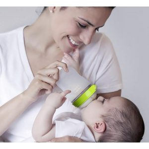 Comotomo Natural Feel Baby Bottle - 6 months+ Fast flow 250ml