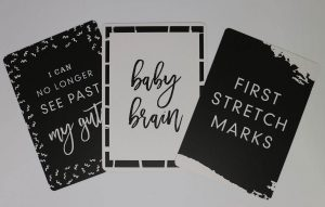 seriously preggie pack milestone cards examples