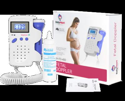 babyheart advanced fetal doppler showing box