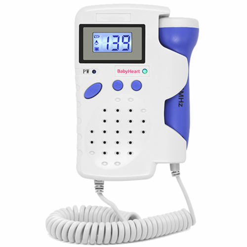 babyheart advanced fetal doppler front view