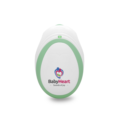babyheart mini doppler front view