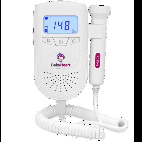 babyheart standard fetal doppler front view