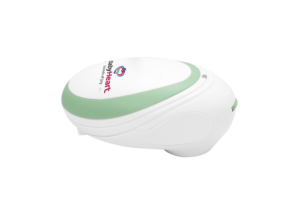 mini fetal doppler lying flat