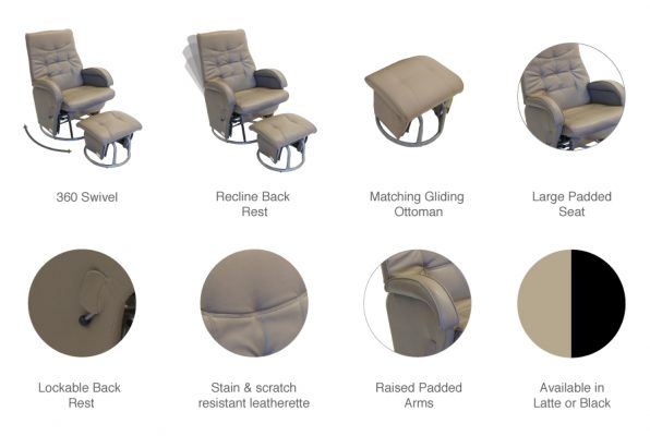diva glider product features