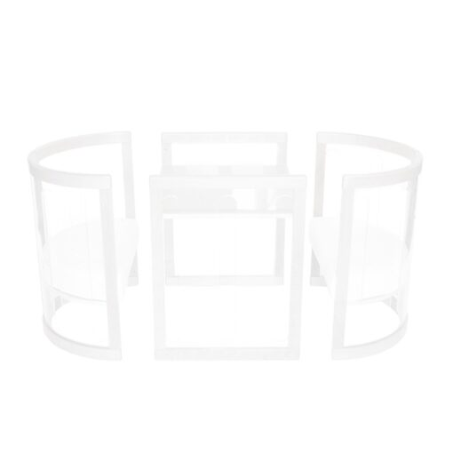 kaylula sova table and chair set in white