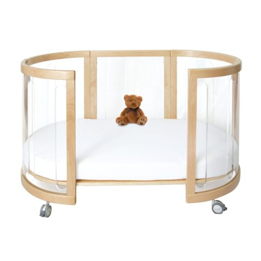 sova clear toddler bed in beech