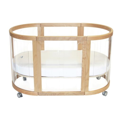 kaylula sova clear cot in beech