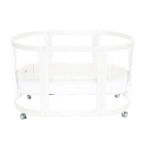 kaylula sova cot in white