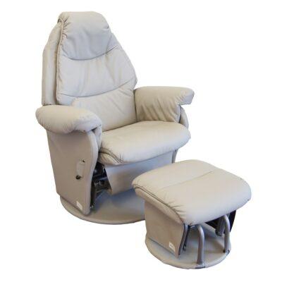 vogue glider feeding chair ice grey colour