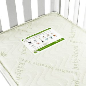 bamboo innerspring cot mattress