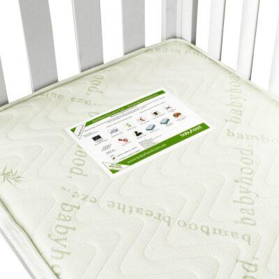 bamboo innerspring cot mattress