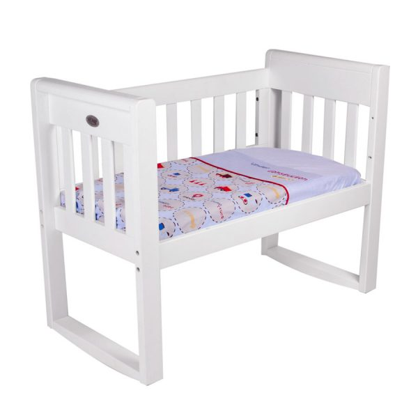 cradle sheet set in under construction theme