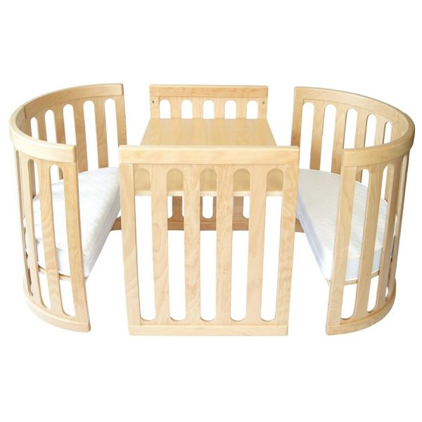kaylula sova cot in table and chairs mode
